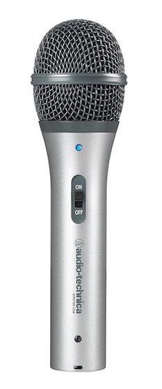 audio-technica atr2100-usb profile view