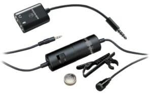 Audio-Technica ATR3350iS Lavalier mic