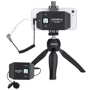 Comica CVM-WS50(C) Wireless Smart Phone Microphone