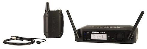 Shure GLXD14/93 Digital Presenter Wireless System with WL93 Lavalier Microphone