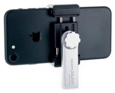 square jellyfish metal smartphone tripod mount