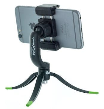 Square Jellyfish Jelly Grip Tripod Mount with Jelly Long Legs for Smartphones