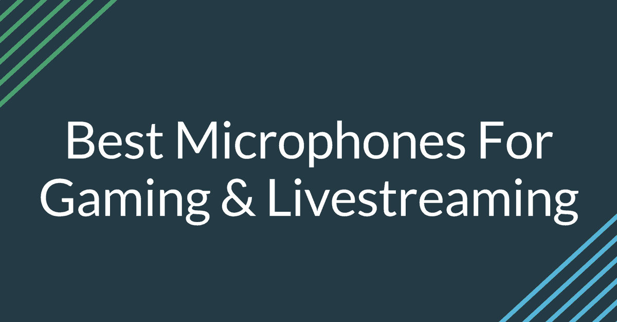 Best Microphones🎙️For Gaming 🎮 & Livestreaming 📹 2019