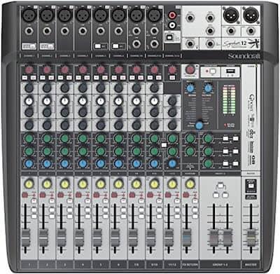 Soundcraft Signature 12MTK Multi-Track Mixer