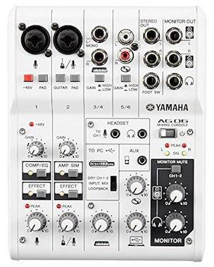Yamaha AG06 mixer