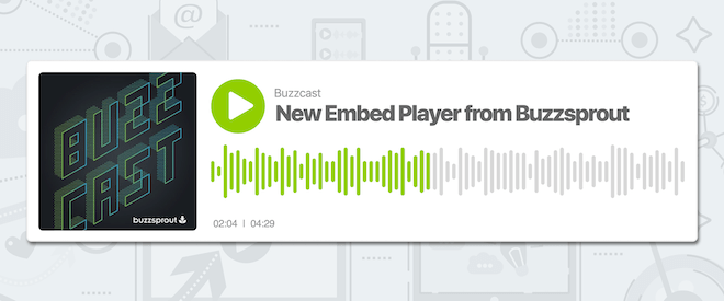 New Buzzpsrout Wave Embed Player