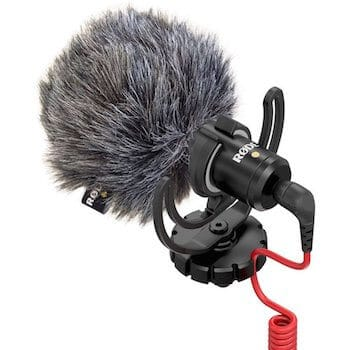 Rode VideoMicro on-camera microphone