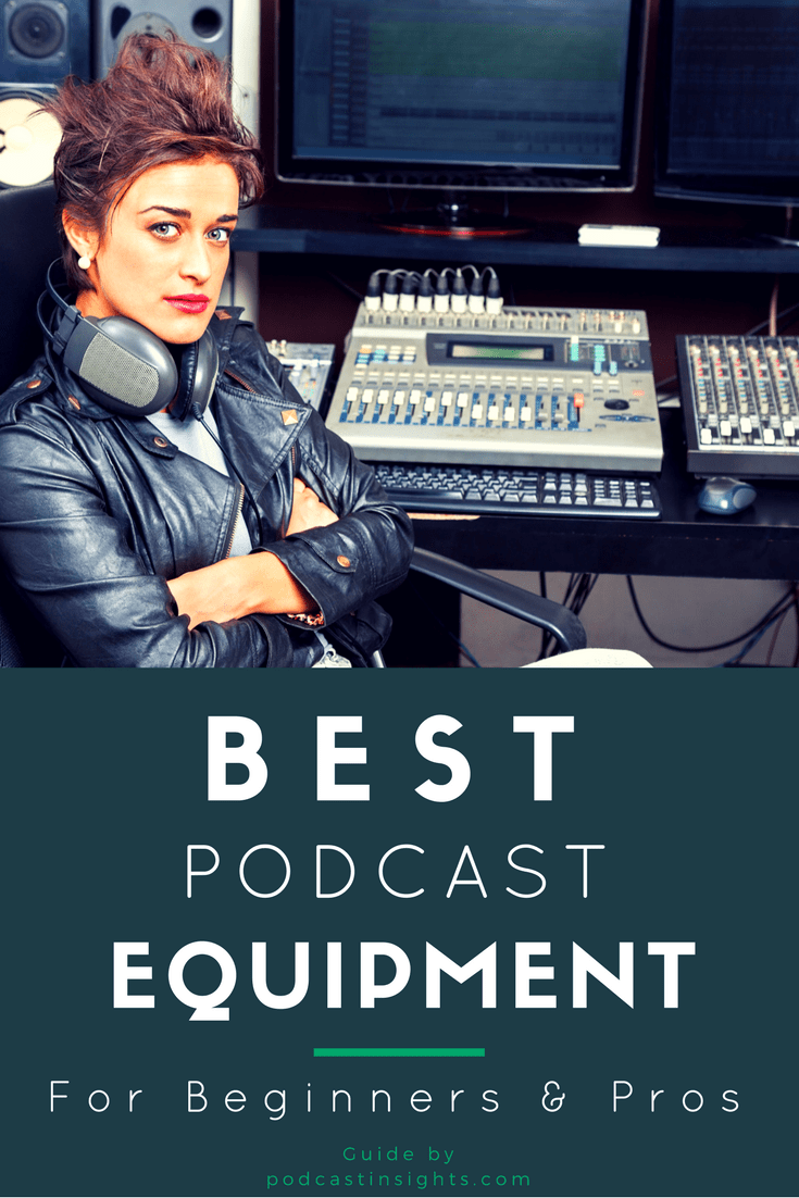 A complete list of podcast equipment and gear (whether you're just getting started or you're ready to go pro)