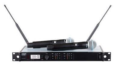 Shure ULXD24D/B58 Dual Wireless System BUNDLE w/Beta 58A