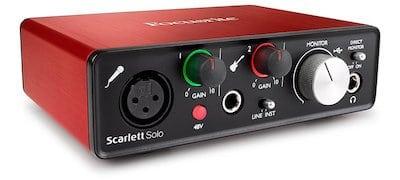Focusrite Scarlett Solo (2nd Gen)