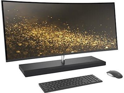 2017 HP ENVY 34 CURVED All-In-One Desktop