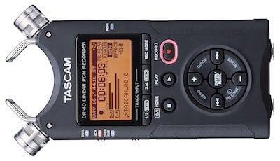 TASCAM DR-40 4-Track Portable Digital Recorder