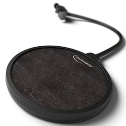 Auphonix 6-Inch Diameter Microphone Pop Filter with Double Mesh Screen