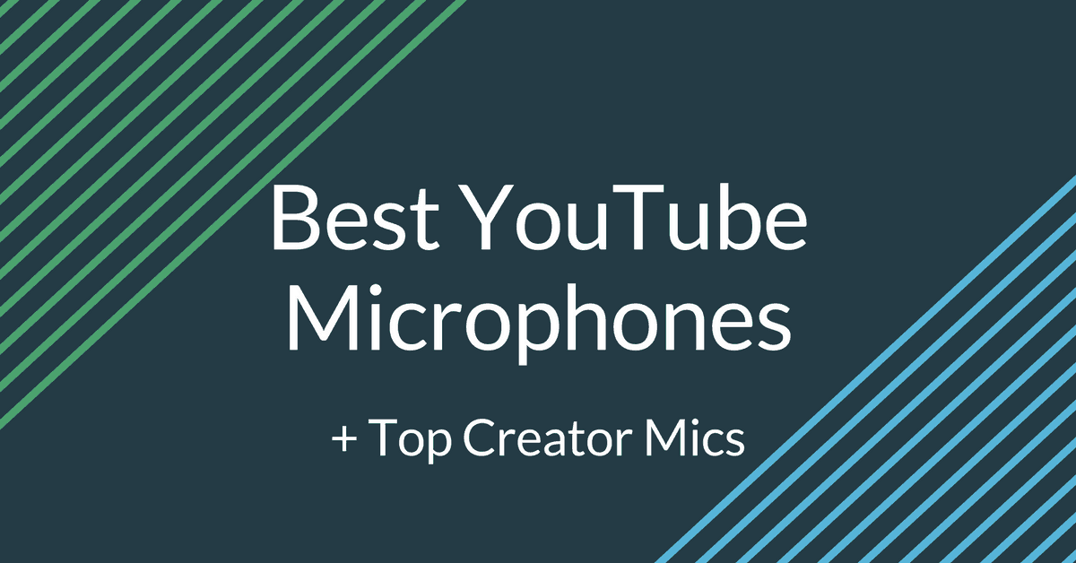 Best Microphones For YouTube Videos (With Top Creator Picks