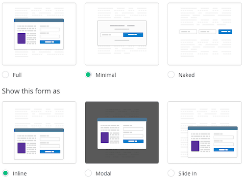 convertkit email form styles