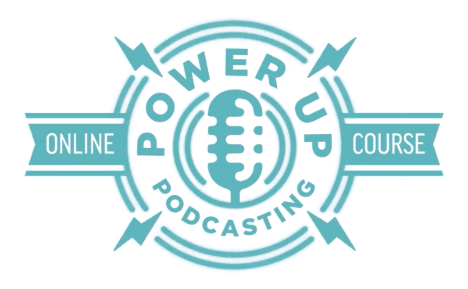 Power-Up Podcasting logo