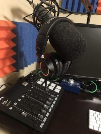 Rodecaster Pro on desk