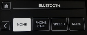 Rodecaster Pro bluetooth settings