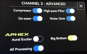 Rodecaster Pro channel 2 advanced