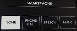 Rodecaster Pro smartphone settings