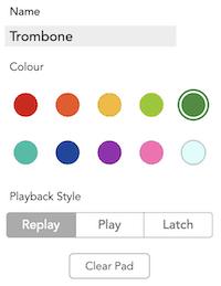 rodecaster pro soundpad playback options