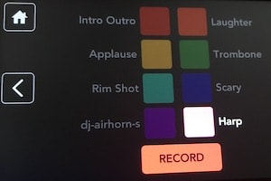 Rodecaster Pro soundpad record